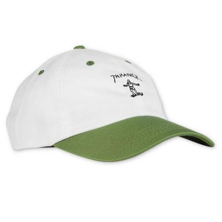 Кепка THRASHER Gonz Old Timer Hat White/Olive