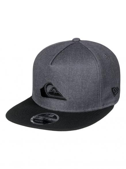 Кепка-бейсболка мужская QUIKSILVER Stuckles Snap Charcoal Heather