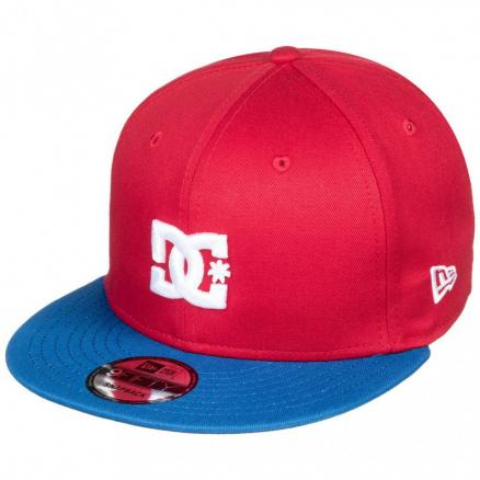 Кепка DC SHOES Empire Fielder Hdwr Racing Red