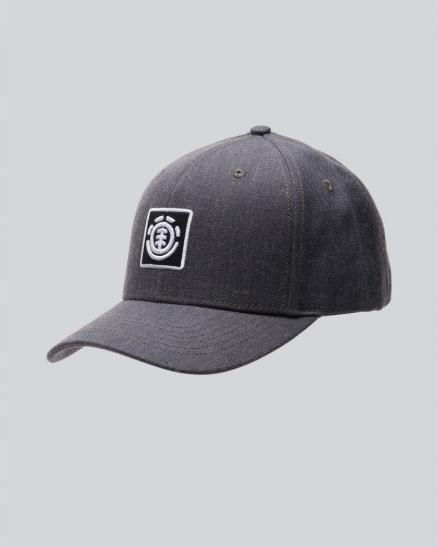 Кепка ELEMENT Treelogo Cap Charcoal Heathe