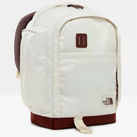 Рюкзак городской THE NORTH FACE Ruthsac 31.5L Vintage White/Sequoia Red