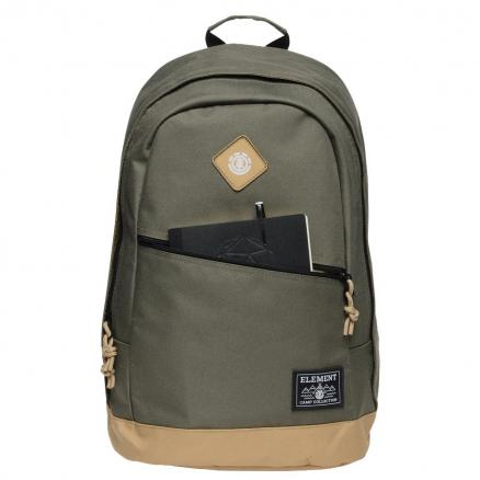 Рюкзак мужской ELEMENT Camden Bpk Moss Green 21L