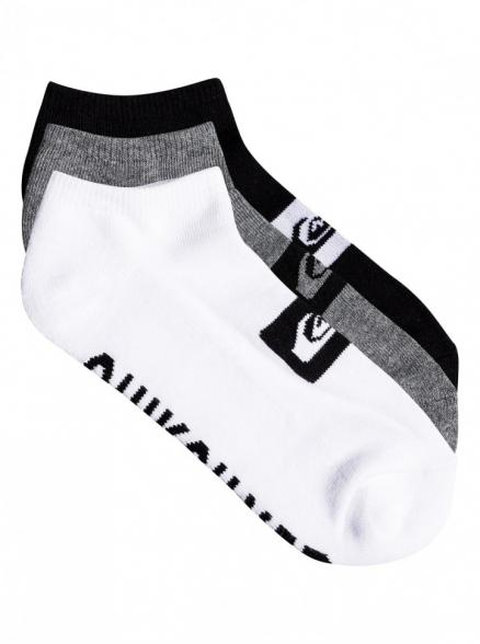 Носки QUIKSILVER 3Ankle Pack M Assorted