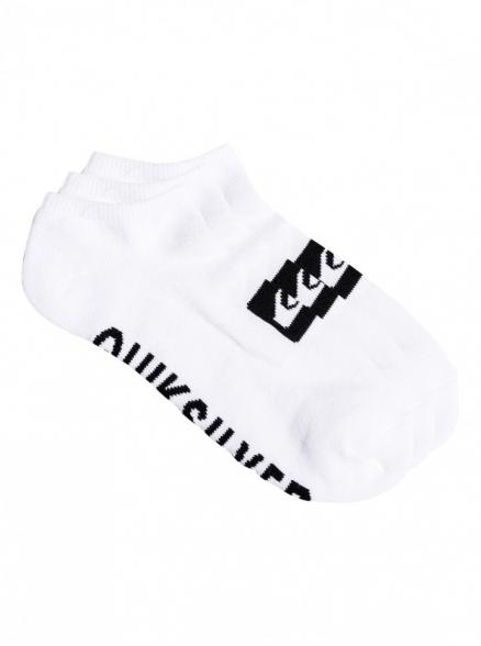 Носки QUIKSILVER 3Ankle Pack M White