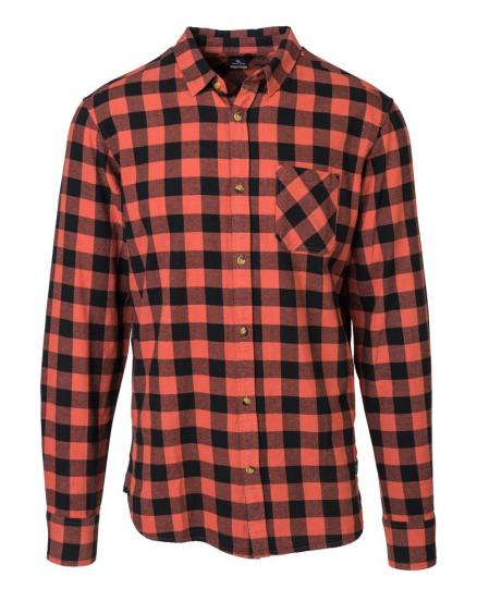 Рубашка RIP CURL Check It Shirt Mineral Red