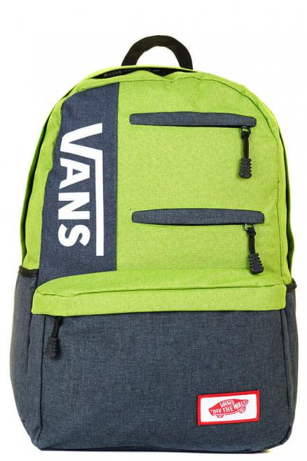 Рюкзак Vans - Dark Gray&Light Green