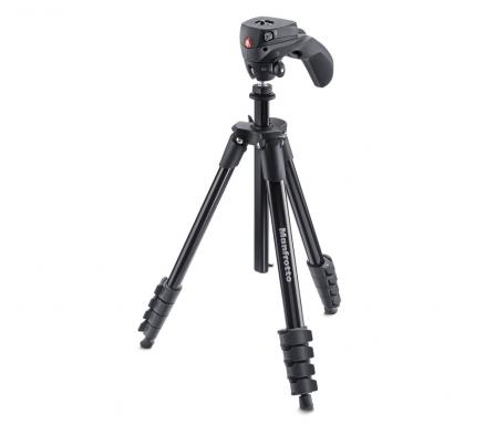 Штатив MANFROTTO (Compact Action, черный)
