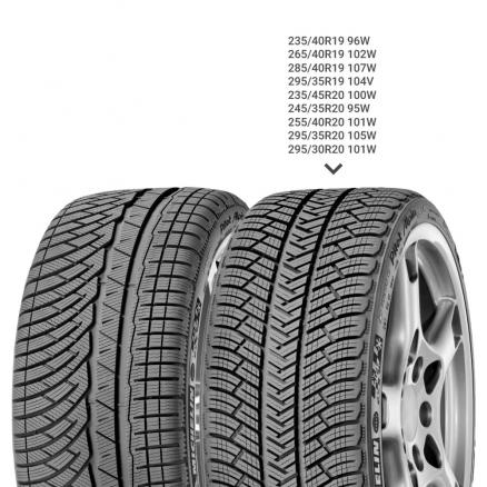 Зимние шины Michelin (Pilot Alpin 4 XL 265/35 R18 97V)