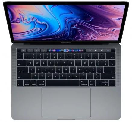 "Apple MacBook Pro 13 with Retina display and Touch Bar Mid 2018 MR9R2 (Intel Core i5 2300 MHz/13.3""/2560x1600/8GB/512GB SSD/DVD нет/Intel Iris Plus Graphics 655/Wi-Fi/Bluetooth/macOS)"
