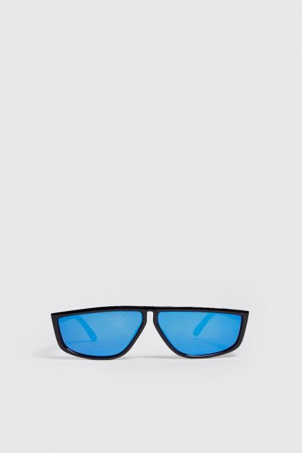Blue Lens Visor Sunglasses