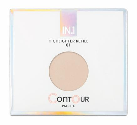 N.1 Contour Palette Highlighter Refill