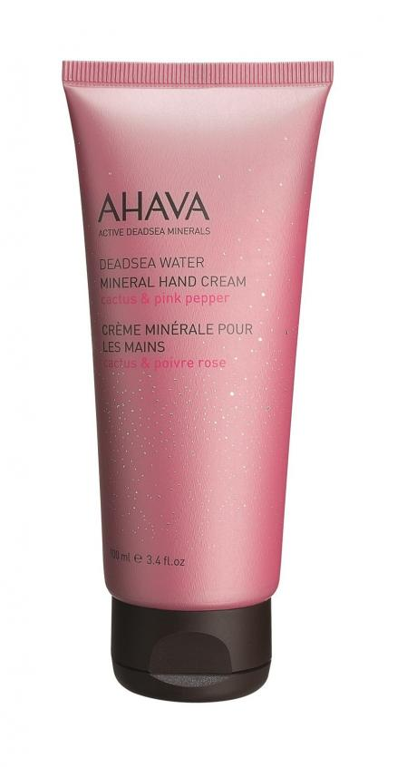 Ahava Deadsea Water Mineral Hand Cream Cactus and Pink Pepper