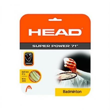 Струна HEAD Super Power 71,10м, 21г, белая