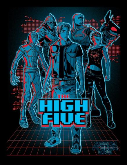 Постер в раме Ready Player One: The High Five