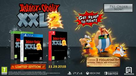 Asterix and Obelix XXL2. Limited Edition [PS4]