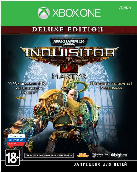 Warhammer 40,000: Inquisitor – Martyr. Deluxe Edition [Xbox One]