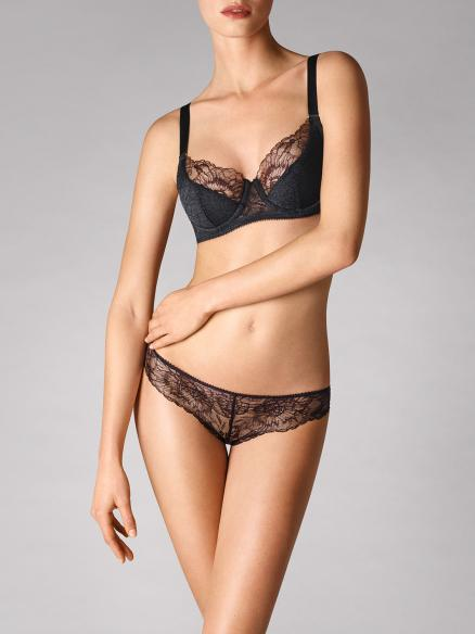 stretch lace cup bra