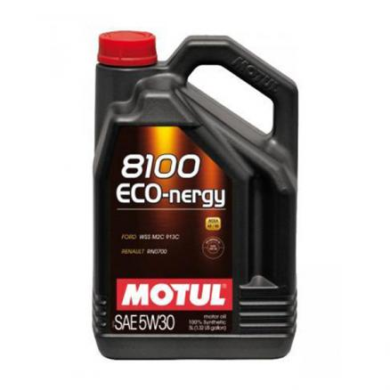 Моторное масло MOTUL 8100 ECO-nergy 5W30 (5л) 102898