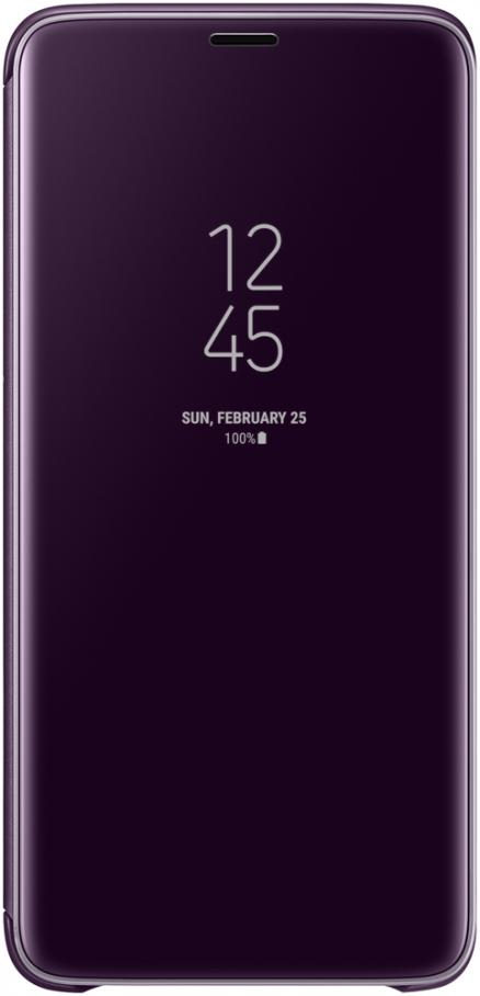 Чехол-книжка Samsung Galaxy S9 Plus Clear View Standing Cover Orchid Grey