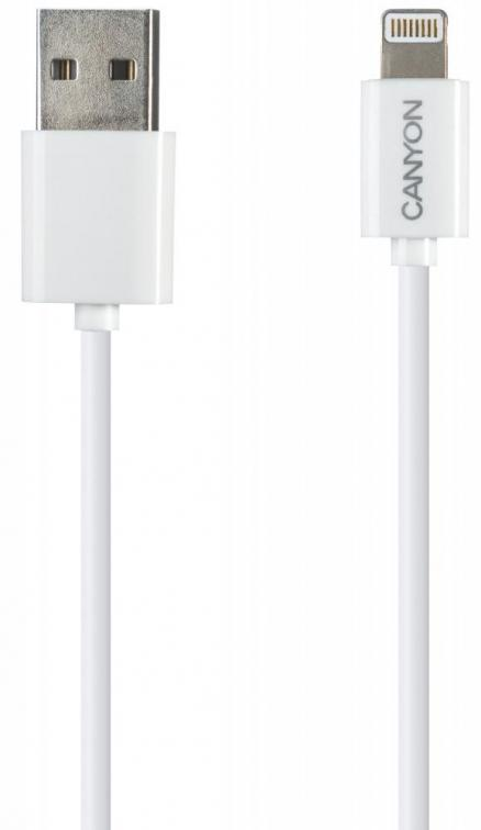 Кабель Canyon (CNE-CFI1 Apple 8pin 1м)