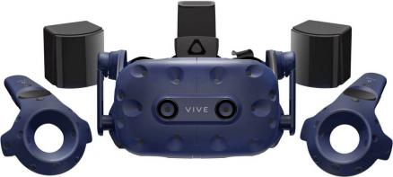 HTC VIVE Pro Full Kit (черно-синий)