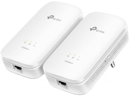 Powerline адаптер TP-LINK (TL-PA8010 KIT (белый))