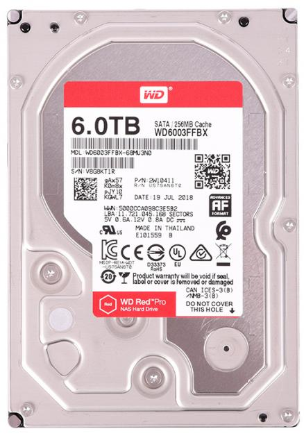 """WD Red Pro 6Tb 3.5"""""""