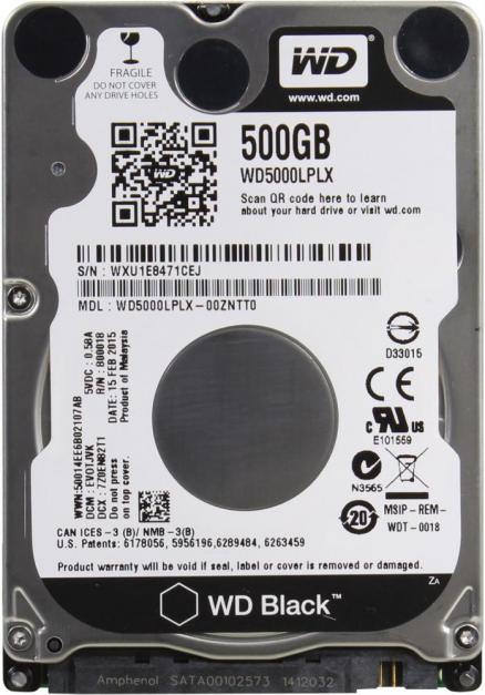 "WD Black Mobile 500GB 2.5"" (Black Mobile 500GB 2.5"")"