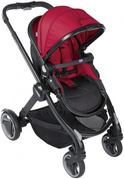 Chicco Fully Single Stroller (красный)