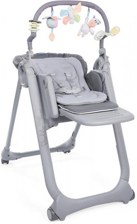 Chicco Polly Magic Relax Graphite (серый)