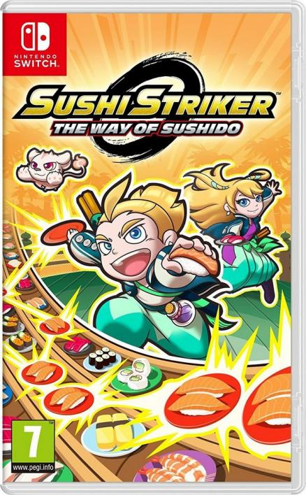 Nintendo NSW Sushi Striker: The Way of Sushido