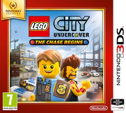 Nintendo 3DS LEGO City Undercover: The Chase Begins