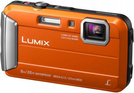 Panasonic Lumix DMC-FT30 (оранжевый)