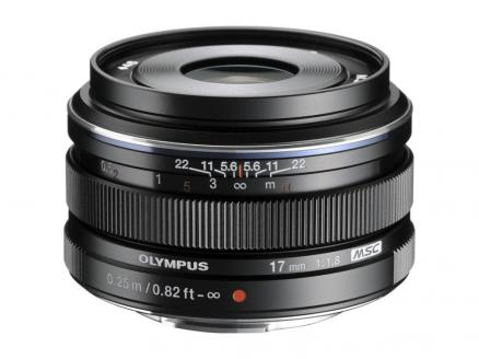 Olympus M.Zuiko Digital 17mm 1:1.8 / EW-M1718 (черный)
