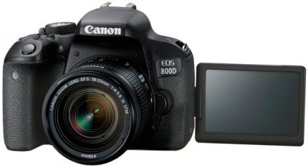 Canon EOS 800D 18-55 IS STM (черный)