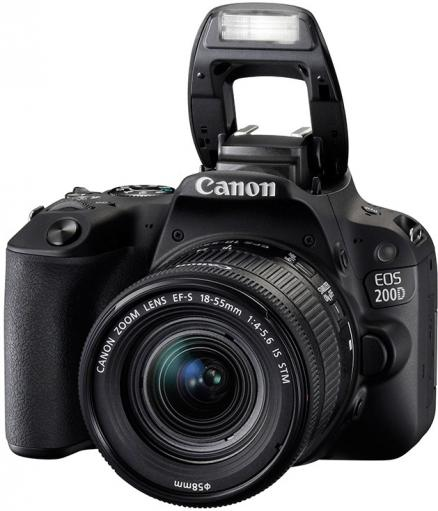 Canon EOS 200D 18-55 IS STM (черный)
