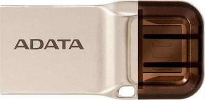 A-Data DashDrive UC370 32GB (золотистый)