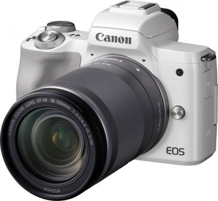 Canon EOS M50 18-150 IS STM (белый)
