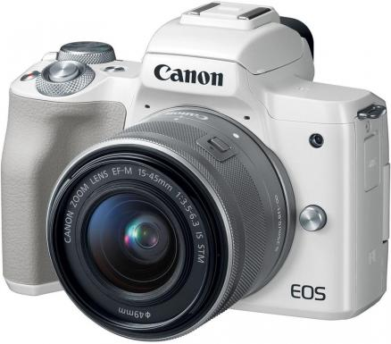 Canon EOS M50 15-45 IS STM (белый)