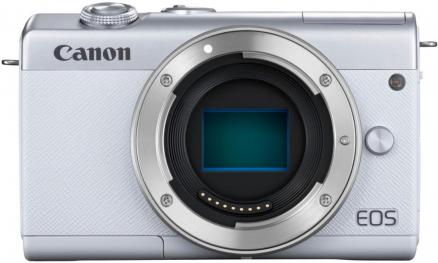 Canon EOS M200 Kit 15-45 IS STM (белый)