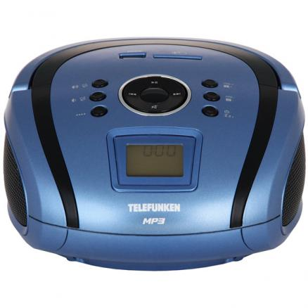 Магнитола Telefunken (TF-SRP3449 Blue with Black)