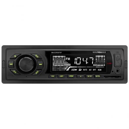 USB-Автомагнитола Soundmax (SM-CCR3073F Black G)