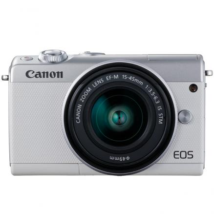 Фотоаппарат системный Canon (EOS M100 EF-M15-45 IS STM Kit White)