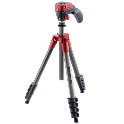 Штатив премиум Manfrotto (Compact Action Red (MKCOMPACTACN-RD))