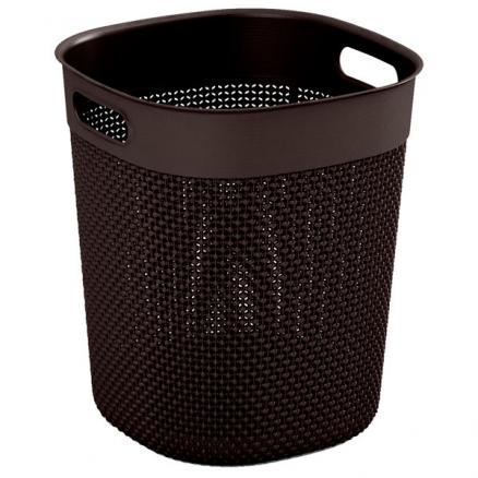 Корзина для белья KIS (Filo Bucket 16л Dark Brown)