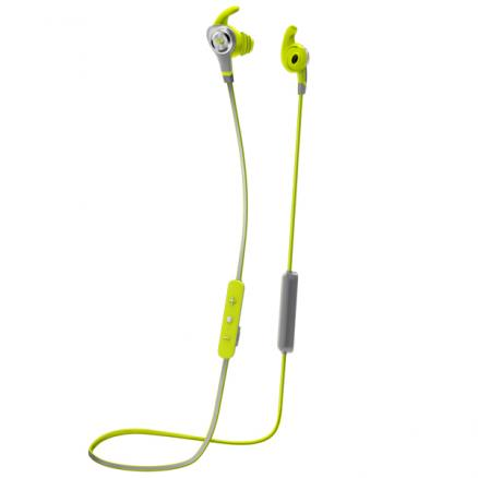 Спортивные наушники Bluetooth Monster (iSport Intensity Green (137094-00))