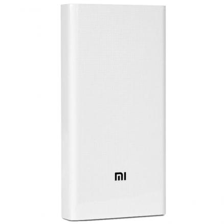 Внешний аккумулятор Xiaomi (Mi Power Bank 2C 20000mAh White (PLM06ZM))