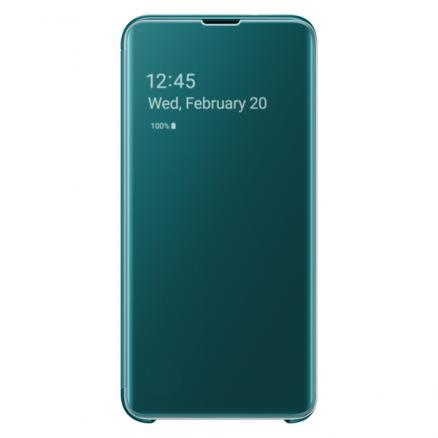 Чехол Samsung (Clear View Cover для Galaxy S10E, Green)