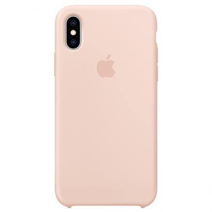Чехол для iPhone Apple (iPhone XS Max Silicone Case Pink Sand)