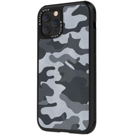 Чехол для iPhone Black Rock (Robust Case Real Leather Camo iPhone 11 Pro хаки)